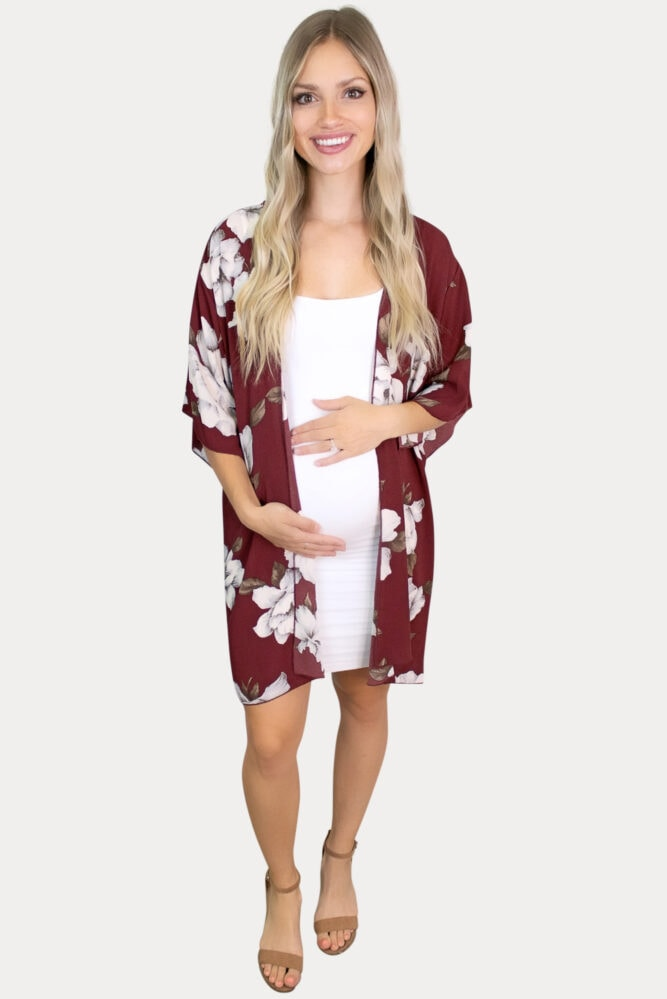fall maternity layering pieces